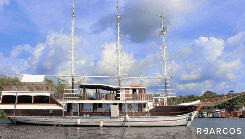 Alugar  Barco Veleiro de 65 Pés - Manaus - Amazonas