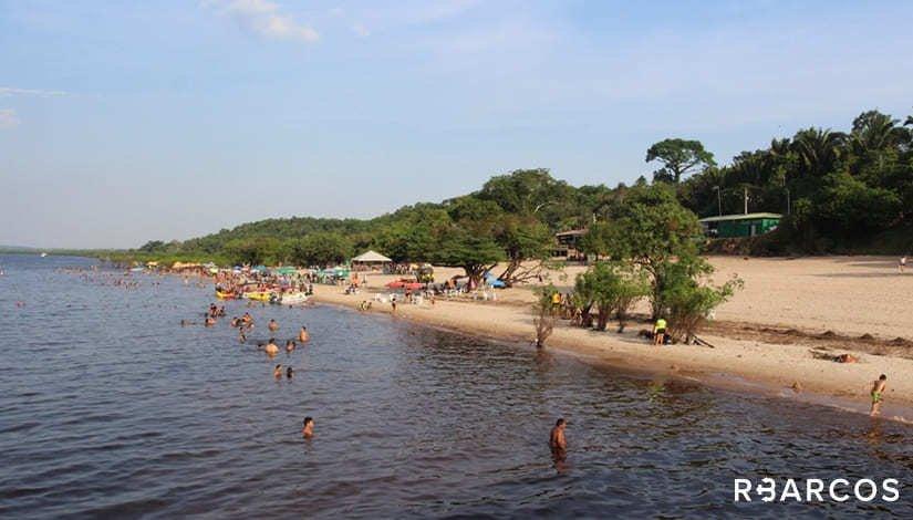 Praias do Rio Negro em Lancha 27 Pés  - /
